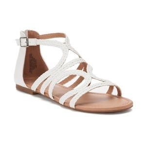 SO Tigershark Women's Sandals, White - New in BoxNWT for sale